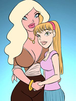 Hot interracial cartoon fantasies of users
